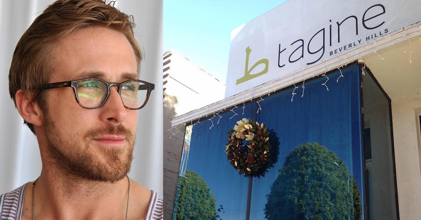 ryan gosling tagine beverly hills Celebrities With Surprising Side-Hustles