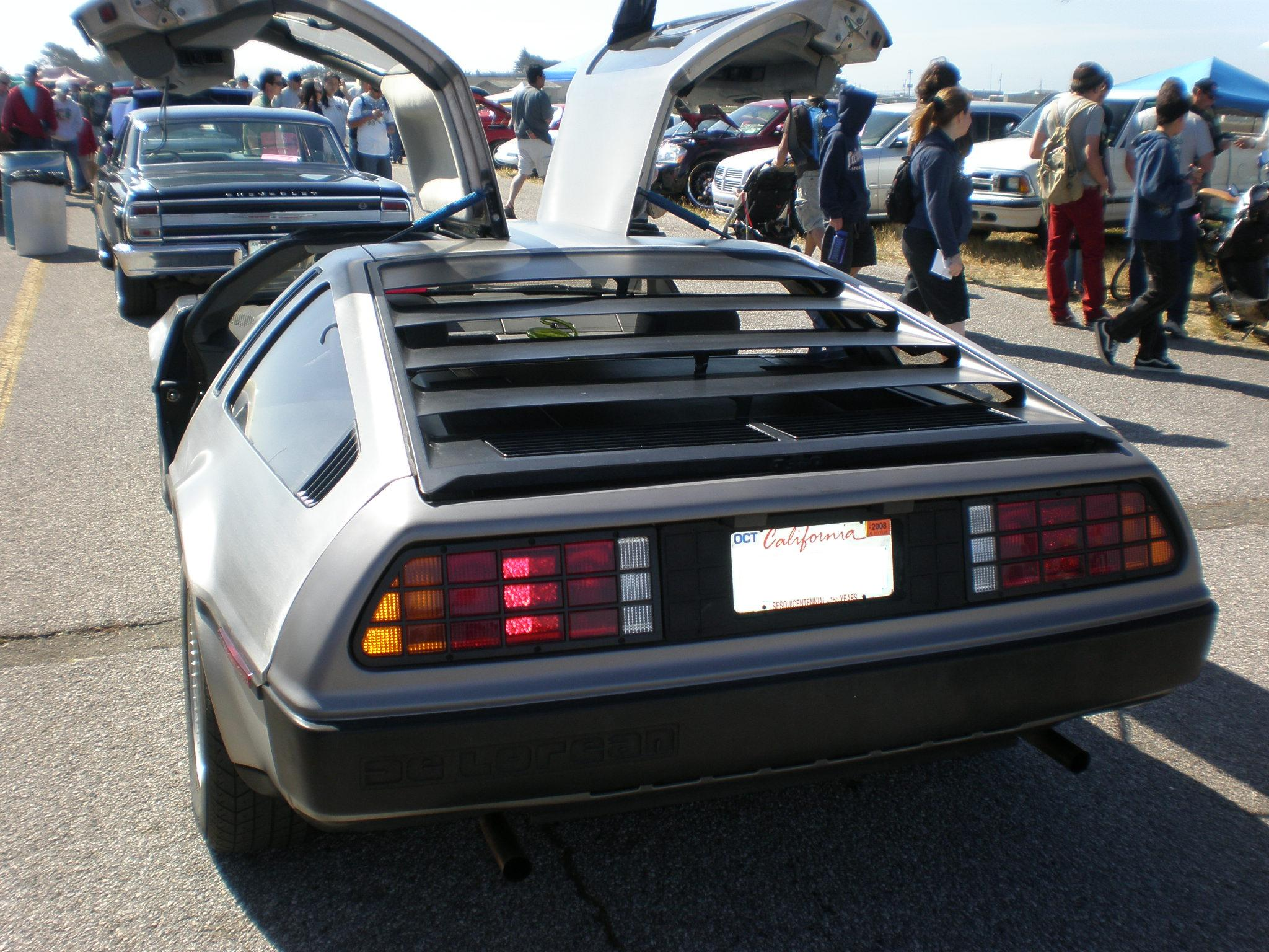 DeLorean DMC 12 rear DeLorean: The Strange Story Behind The Iconic 80s Sports Car And Its Creator