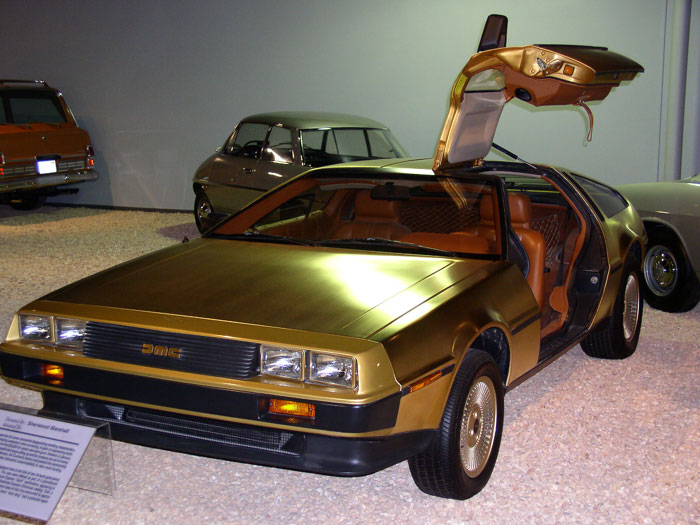 Gold D DeLorean: The Strange Story Behind The Iconic 80s Sports Car And Its Creator