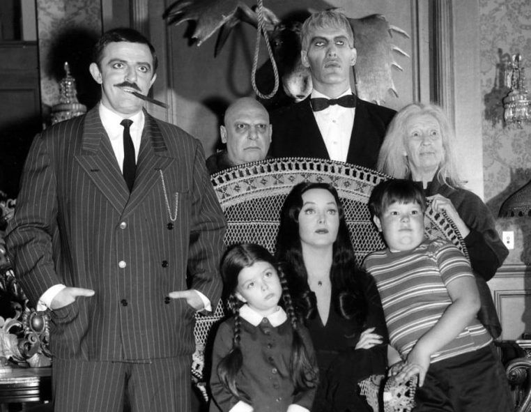 the addams family 1964 tv series e1628582641792 Catherine Zeta-Jones Cast As The Addams Family's Morticia